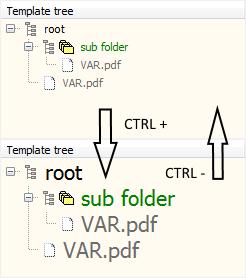 Virtual TreeView Zoom