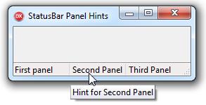 TStatusBar.Panel.Hint